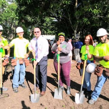 PERC Celebrates the St. Pete Works Ribbon Cutting & Tiny Homes Groundbreaking